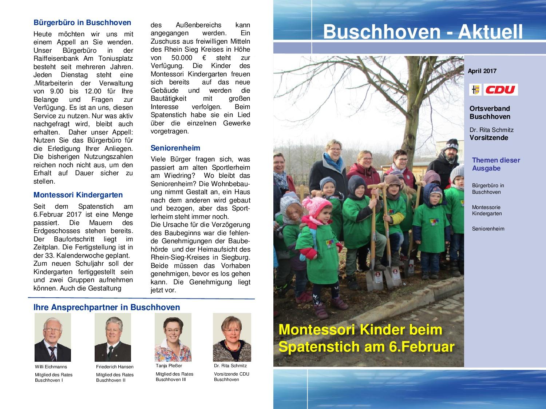 Buschhoven-Aktuell