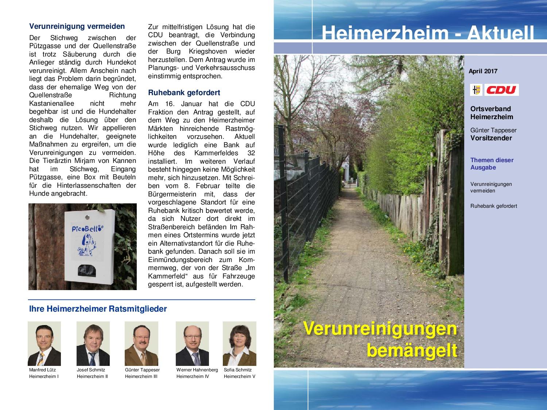 Heimerzheim-Aktuell