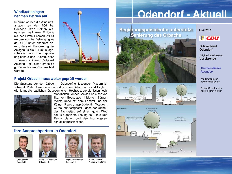 Odendorf-Aktuell