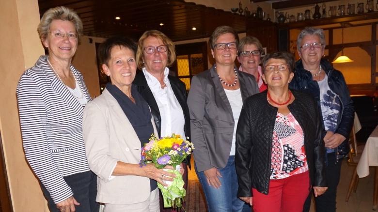 Neu gewählter Vorstand der Frauenunion
