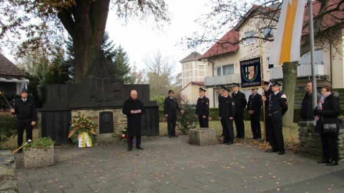 13.11.2016 - Gedenkfeier zum Volkstrauertag