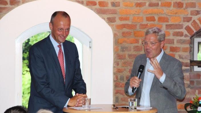 Friedrich Merz und Dr. Norbert Röttgen im Gespräch