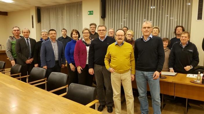 CDU-Fraktion Swisttal mit Oliver Krauß