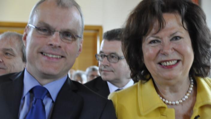 Oliver Krauß und Ilka von Boeselager
