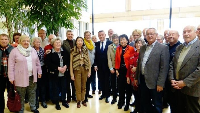 Besuch im Bundesministerium für Gesundheit