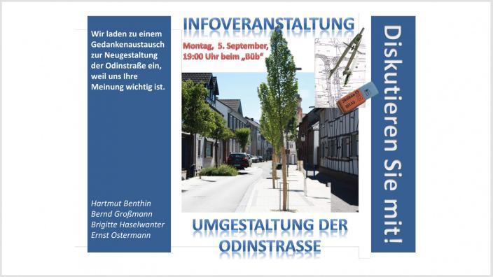 Info-Veranstaltung Odinstrasse