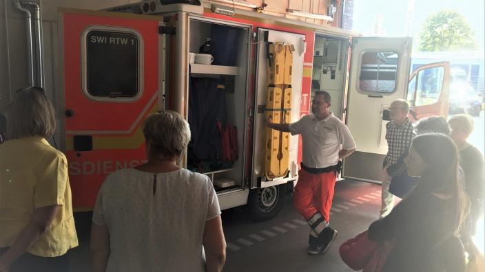 Besuch der neuen Rettungswache in Heimerzheim auf Initiative des CDU-Ortsverbandes Heimerzheim