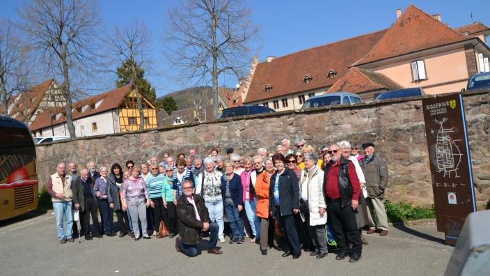 17. Reise des CDU Gemeindeverbandes Swisttal in das Elsass
