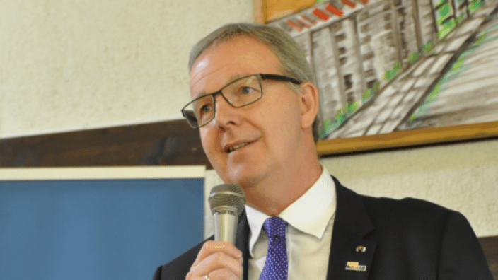 Axel Voss beim Frühlingsempfang der CDU Swisttal – Foto: privat