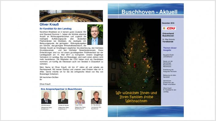 15.12.2016 - Buschhoven-Aktuell