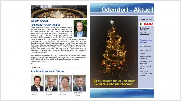15.12.2016 - Odendorf-Aktuell
